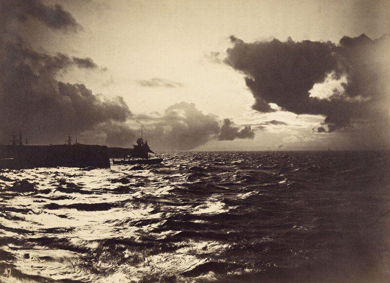 корабль, море