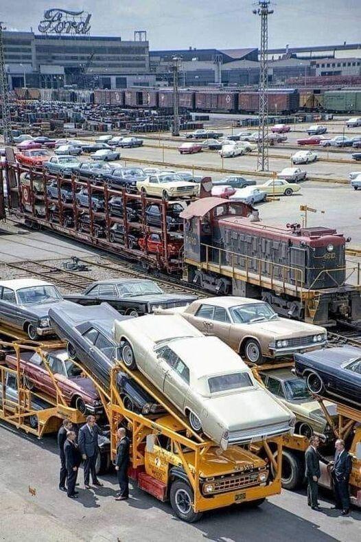 завод, автомобили