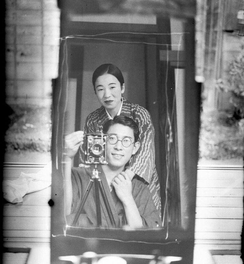 сэлфи, япония, зеркало