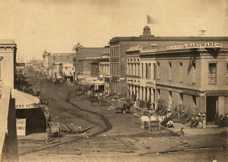 Вид на Баттери-стрит
