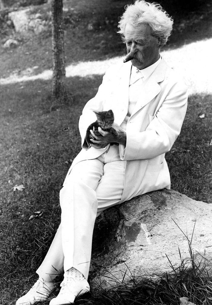 Твен, писатель