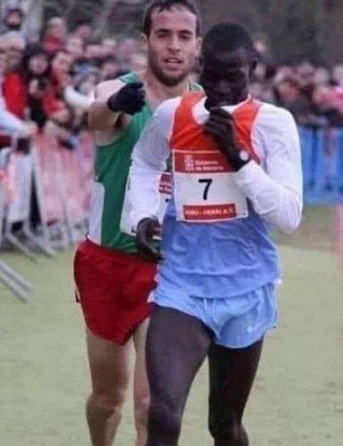 спортсмены, бег