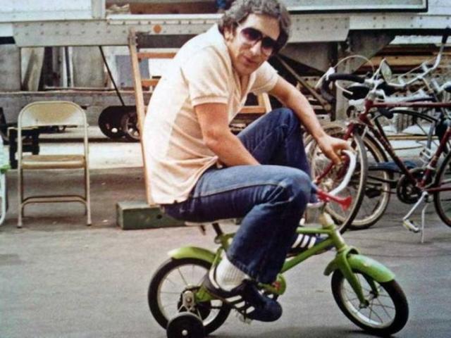 Спилберг, велосипед