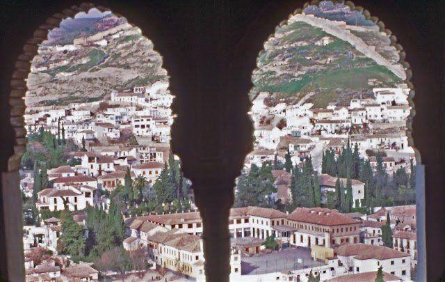 Вид из строений Альгамбры