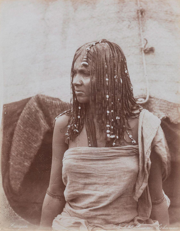 бишарин, женщина