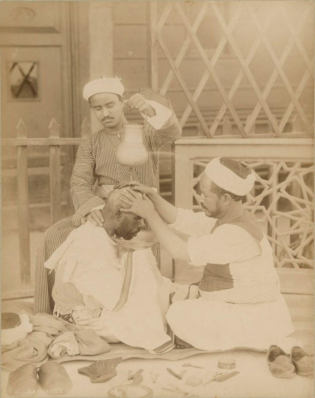 парикмахер, клиент