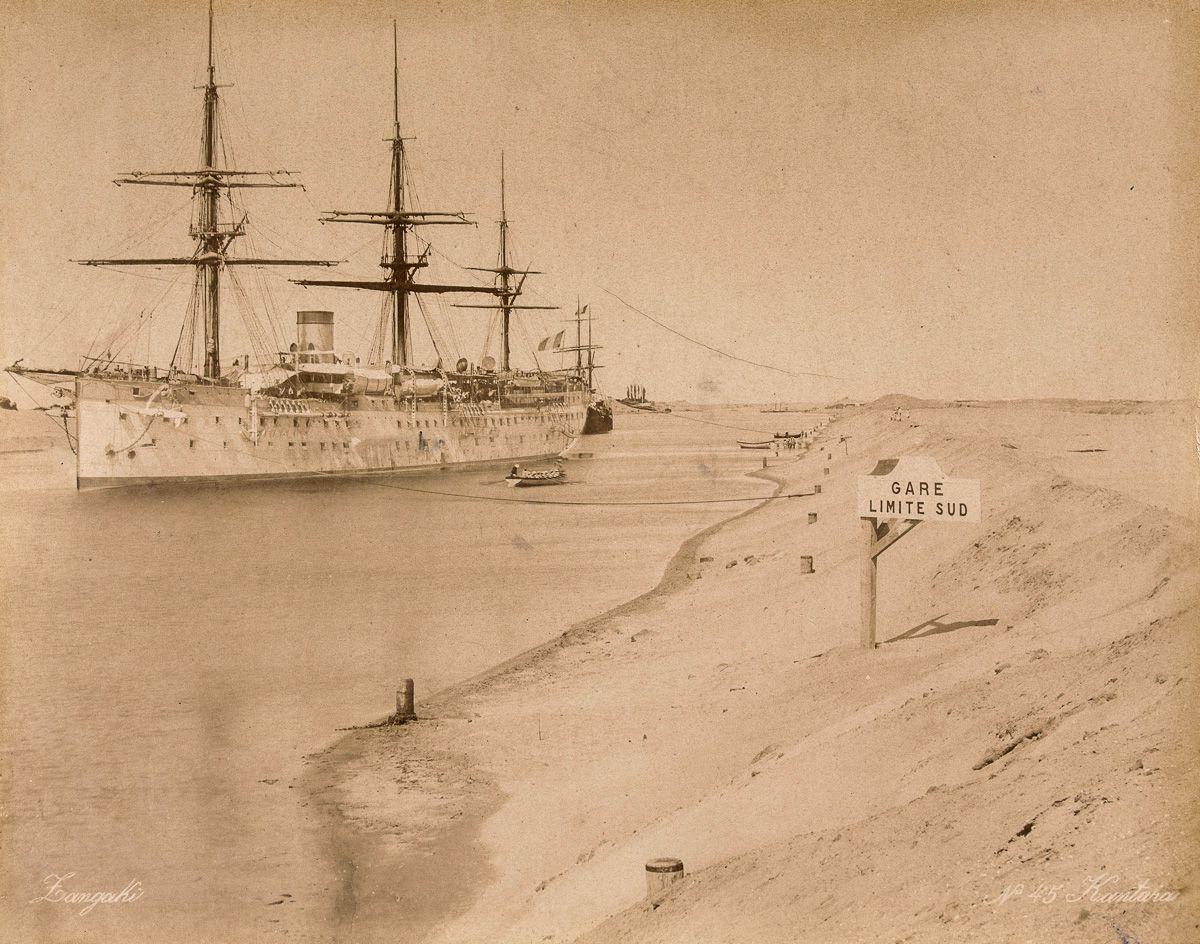 канал, корабль