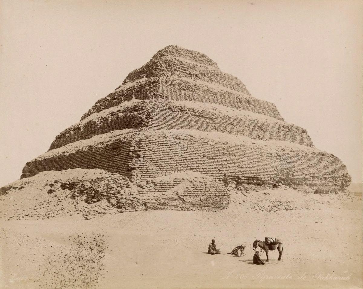 пирамида, Саккара
