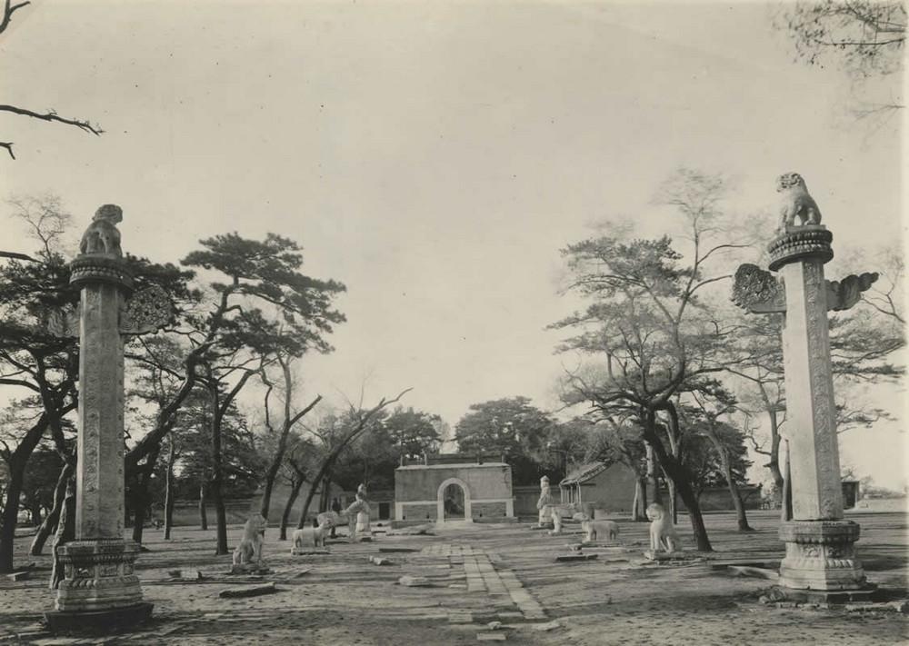 гробницы, Китай, монументы