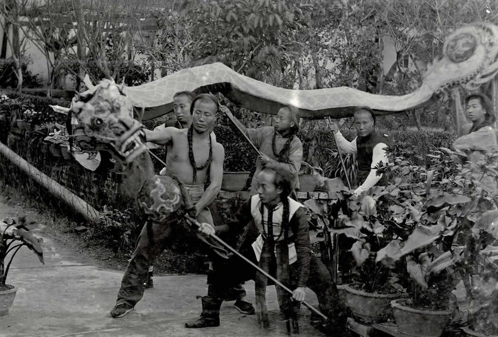 танец, мужчины, Китай