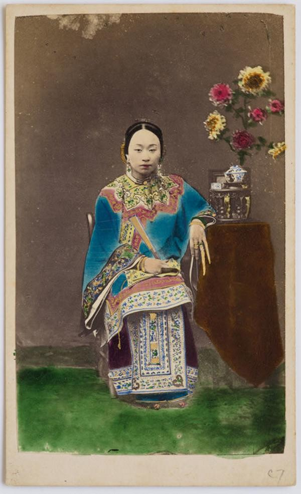 незнакомка, девушка, Китай