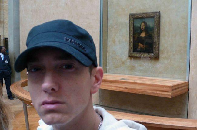 Эминем, Мона Лиза, селфи
