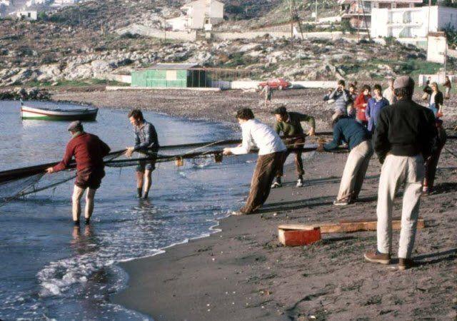 рыбаки ретро