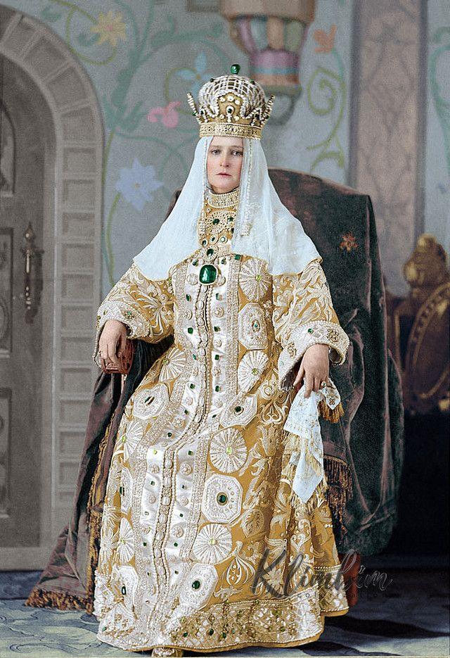 императрица, бал, наряд