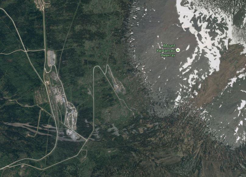 снимок, гора, Ямантау