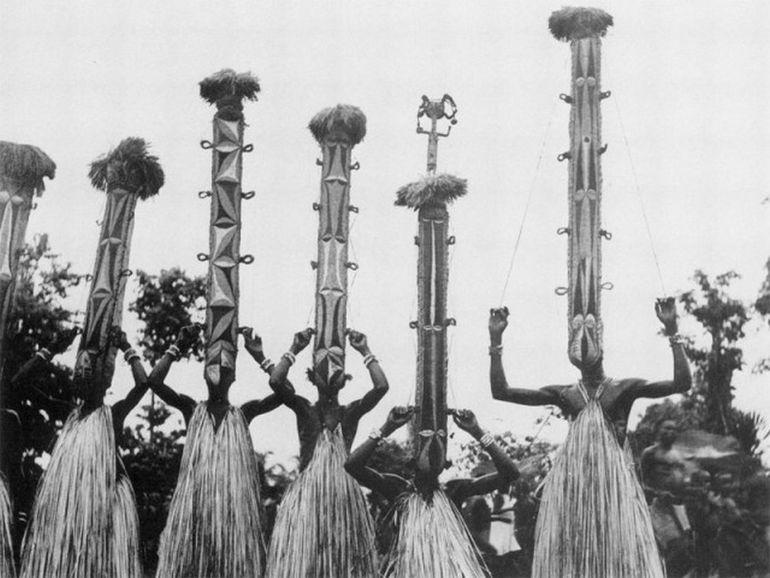 Праздничные костюмы народа Игбо