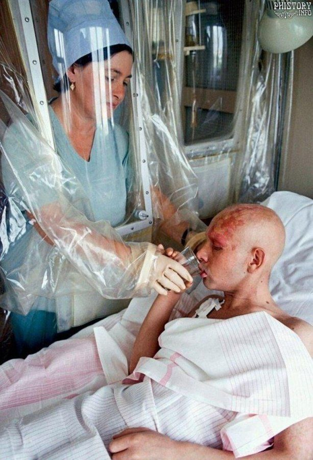 Лечение больных, пострадавших во время аварии на Чернобыльской АЭС