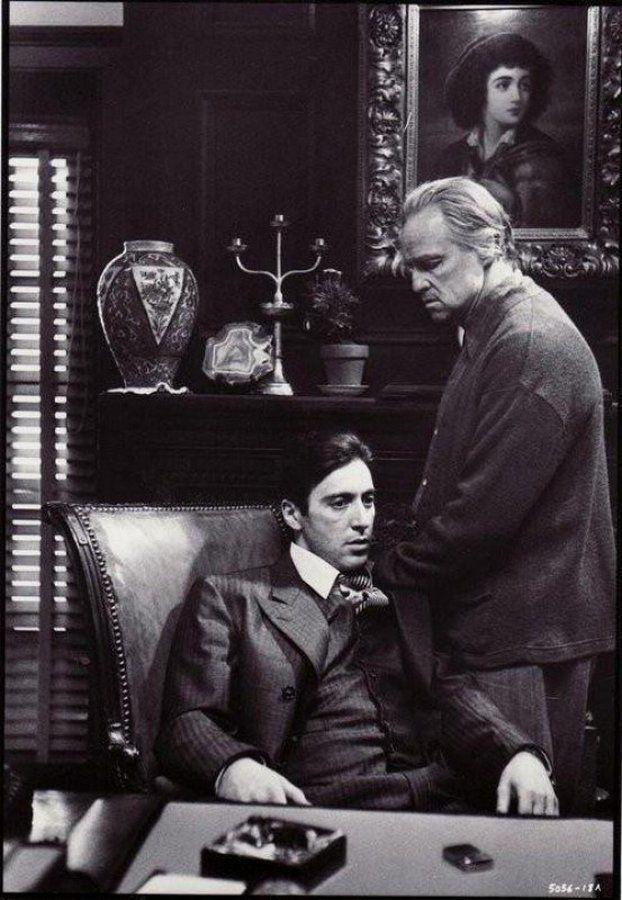 Аль Пачино и Марлон Брандо