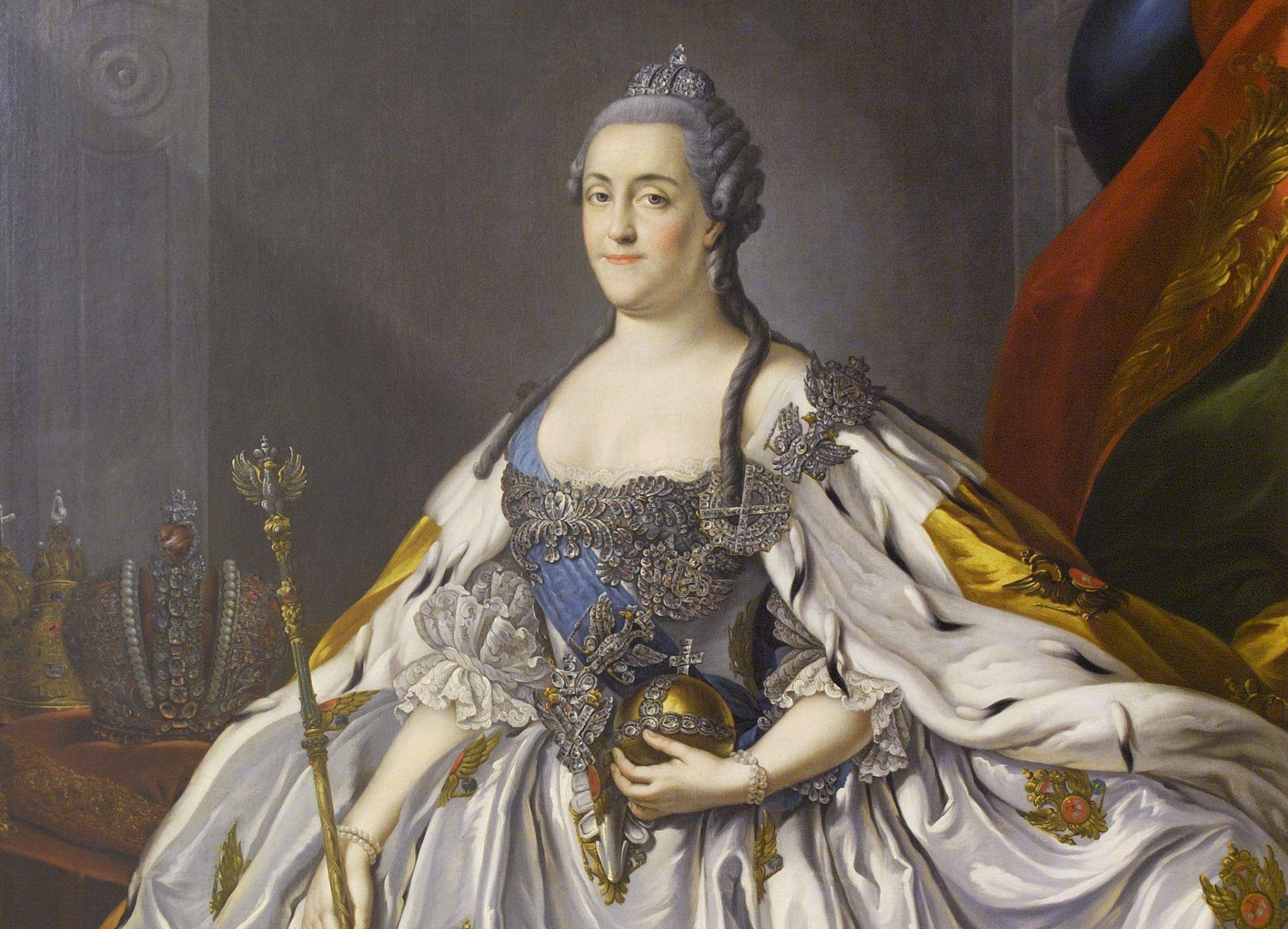Екатерина Вторая, мать Павла Первого