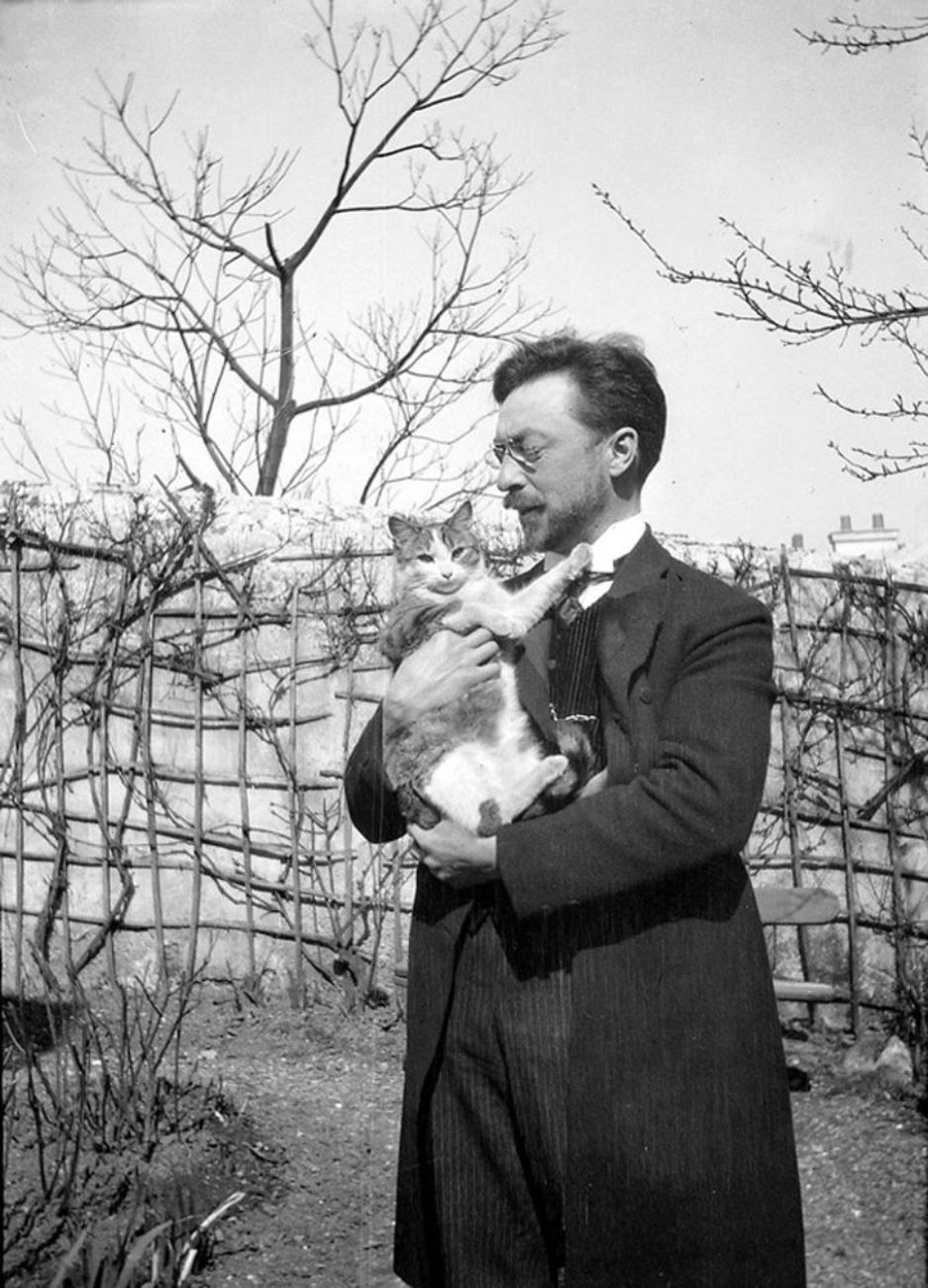Кандинский с котом Васькой