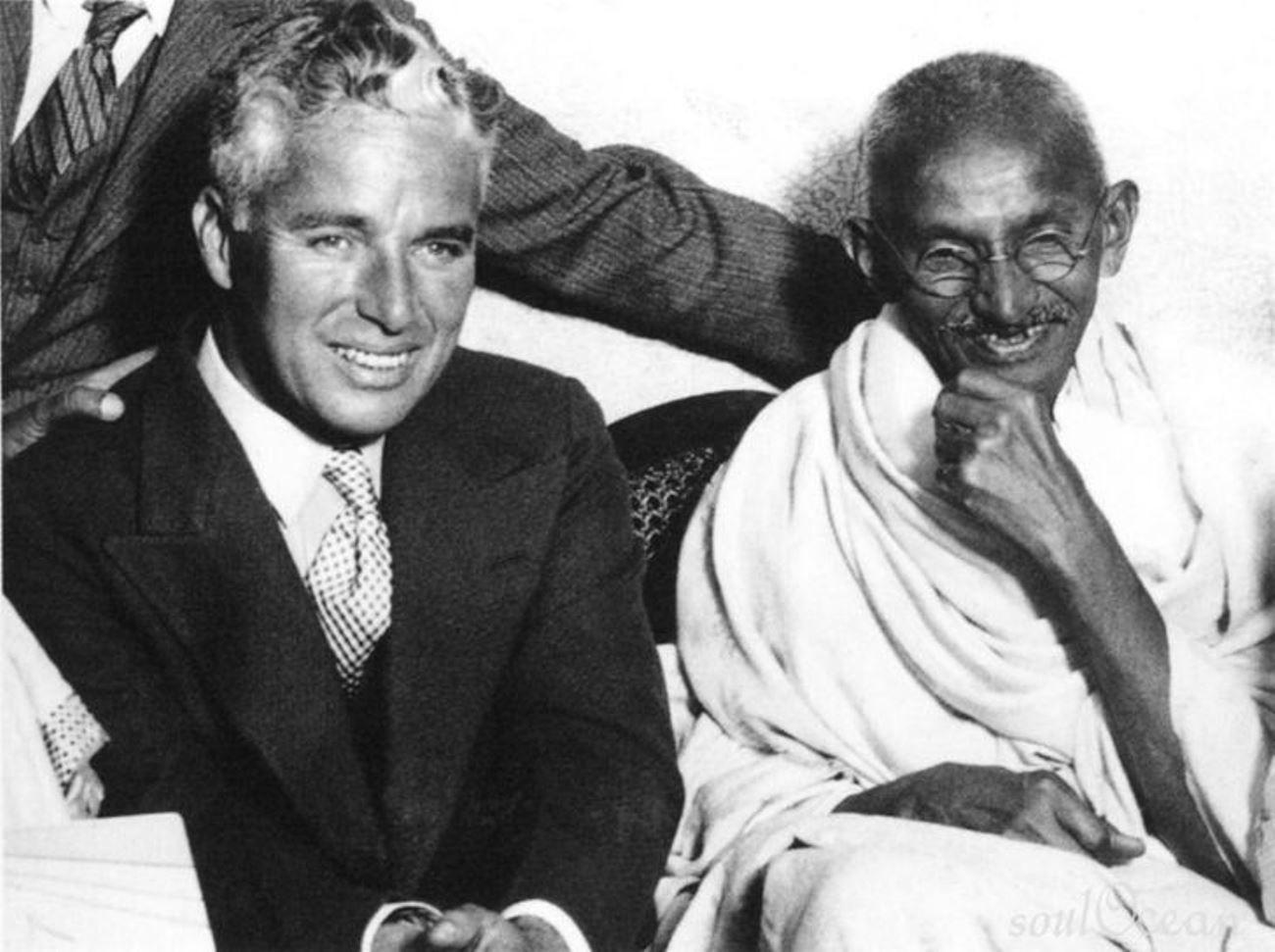 Ганди и Чаплин
