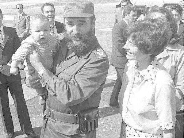 Кастро, ребенок, премьер-министр, Трюдо