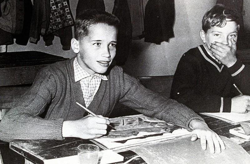 Шварценегер, детство