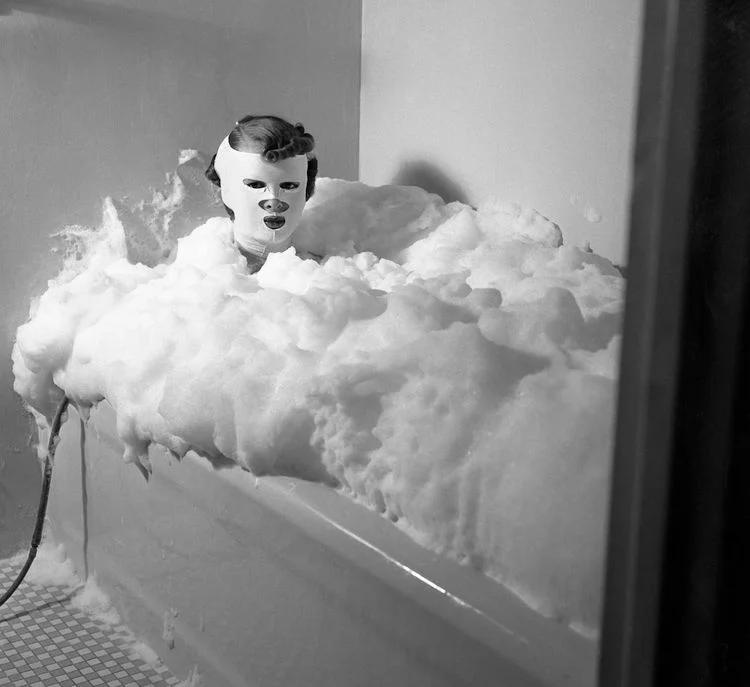 красота, ванна, модель