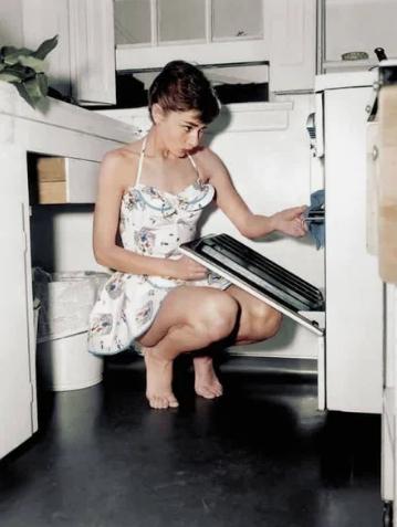 Хепберн, актриса, кухня