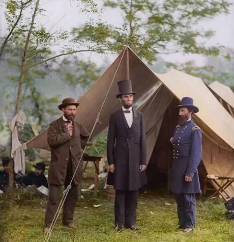 Линкольн, палатка