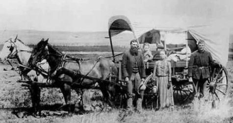 Семья на Диком Западе, 1886