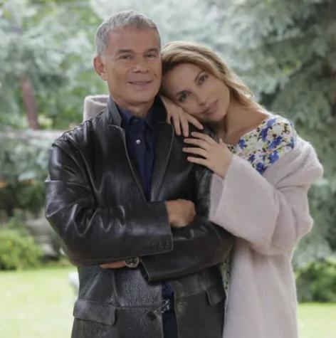Олег Газманов со своей второй супругой