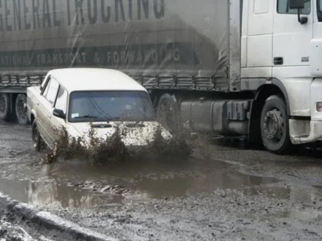 автомобиль, грязь