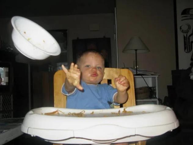 тарелка, малыш