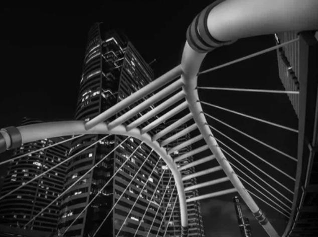 пешеходный мост Сатхорн, Бангкок, Таиланд / @gennys1210 (Италия)
