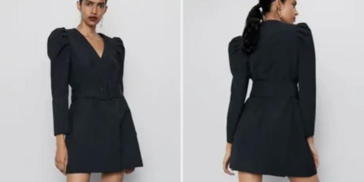 Платье-пиджак - копия бренда Zara, которое на AliExpres можно купить значительно дешевле