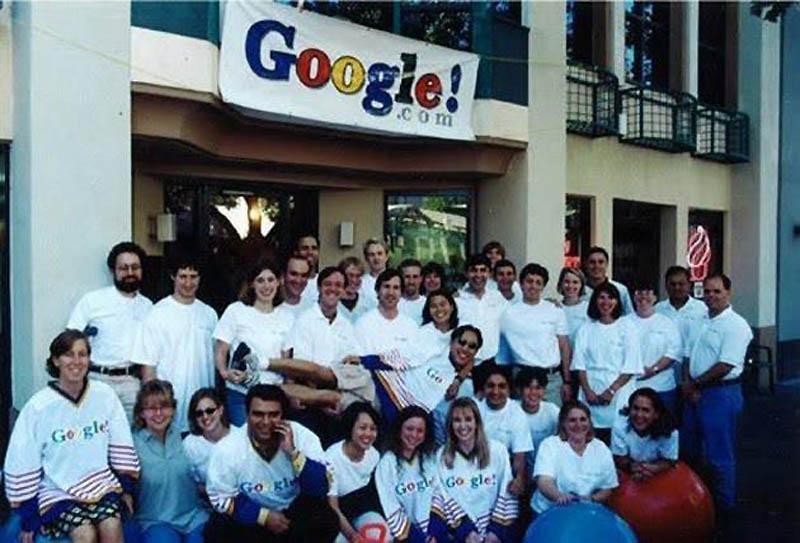 Первая команда Google