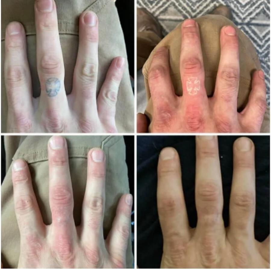 рука, татуировка