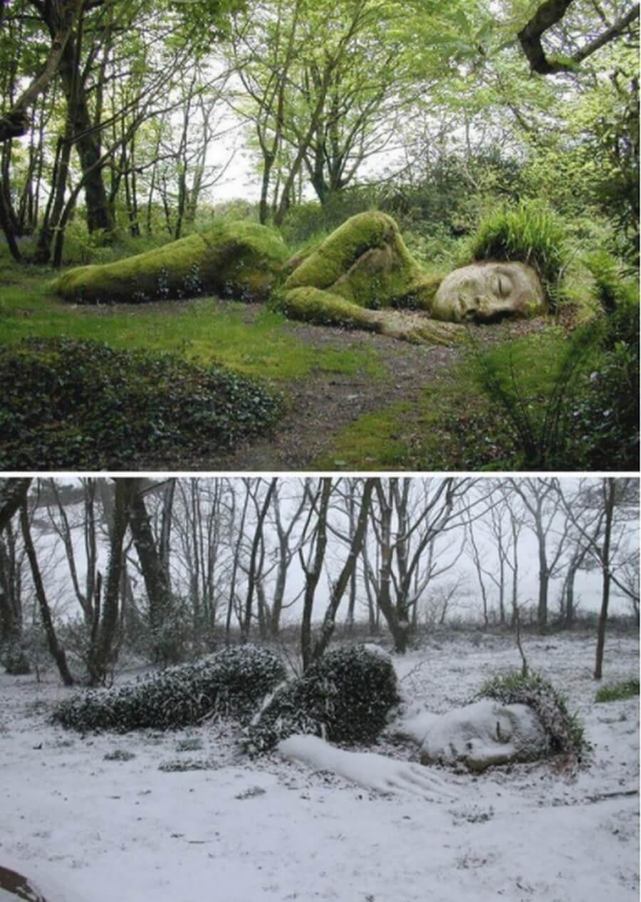 скульптура, сезон