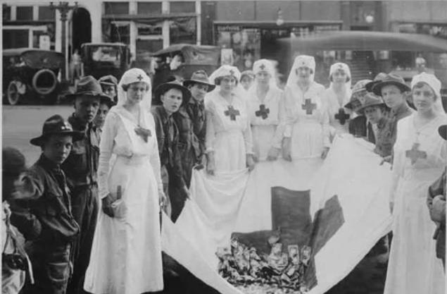 Красный Крест, средства, сбор