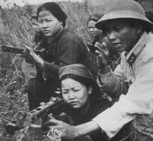 оружие, Вьетнам, женщины