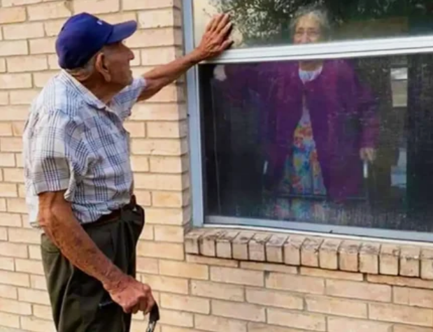 старики у окна