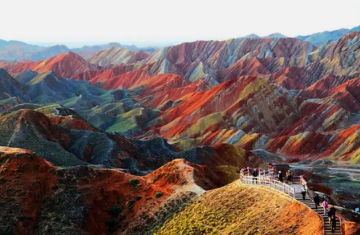 Национальный геопарк ЧжанъеДанься, Китай / unbelievableinfo.blogspot.it