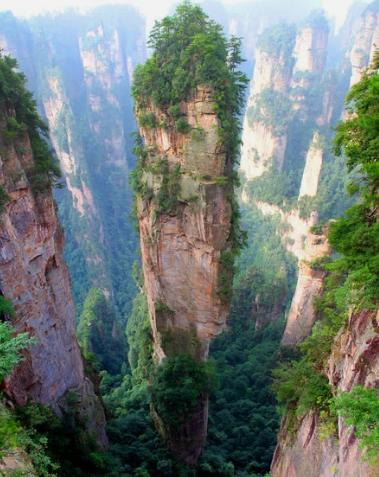 Гора Тяньцзи, Китай / Richard Janecki