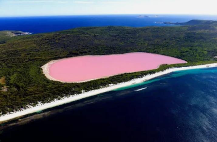 Озеро Хиллиер, Австралия / Ockert Le Roux