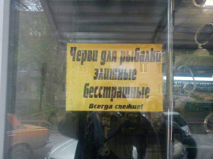 Бесстрашные черви живут только в России