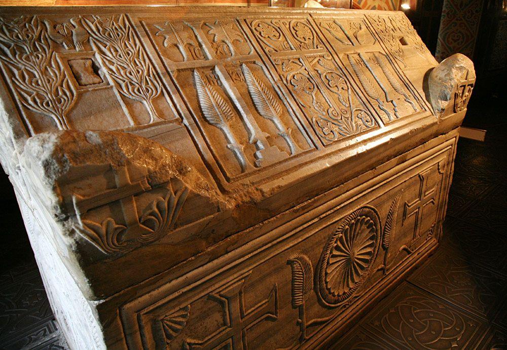 саркофаг, останки, Мудрый