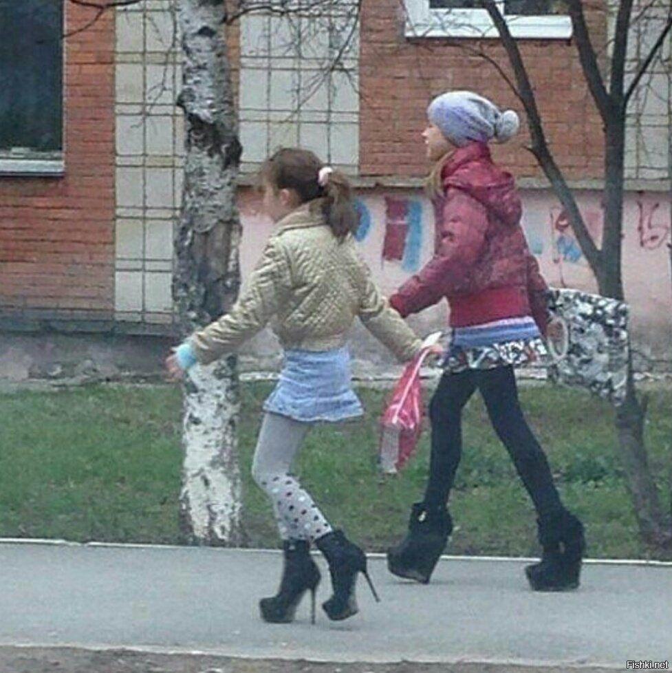 девочки, каблуки