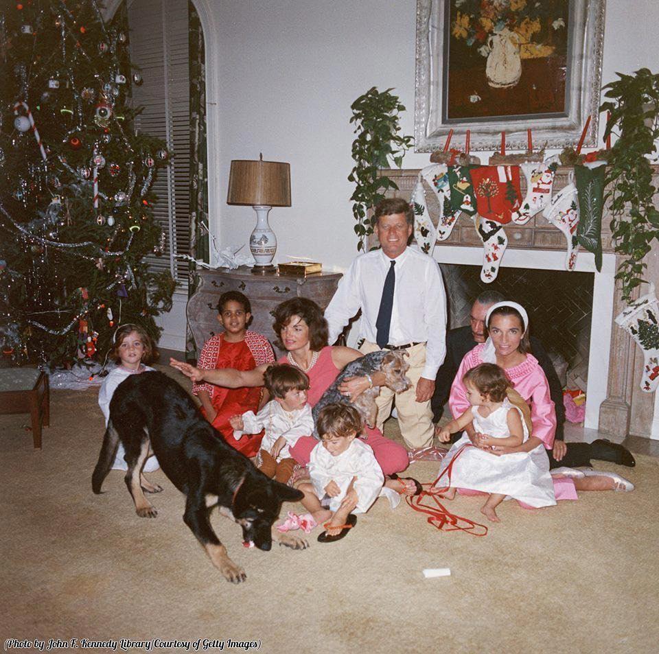 Семья Кеннеди в 1962 году