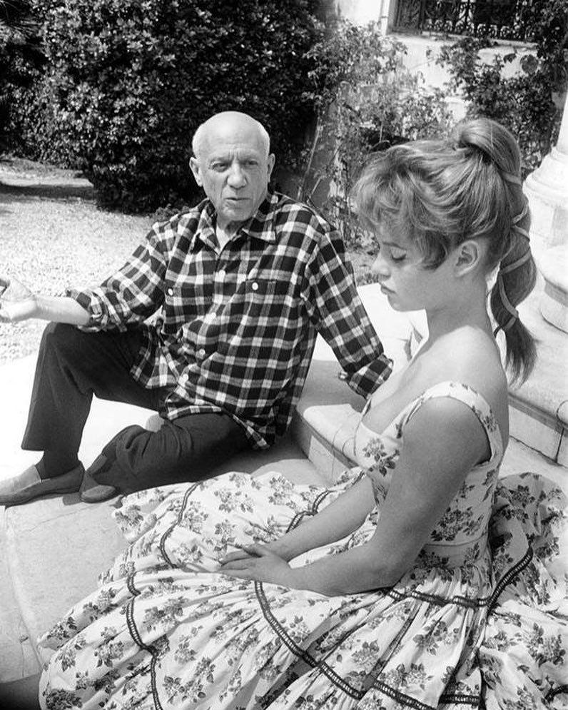 1956 год, Каннский фестиваль и Брижит Бардо